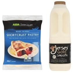 dairy and pastry products